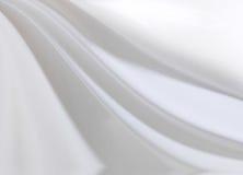 Wit Satijn Royalty-vrije Stock Afbeeldingen