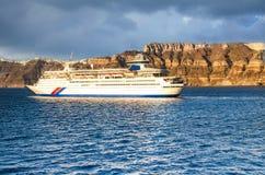 Wit schip Royalty-vrije Stock Foto