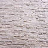 Wit steenpatroon als achtergrond royalty-vrije stock foto