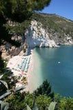 Wit strand Stock Afbeeldingen