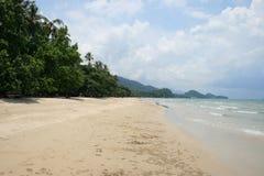 Wit strand, Koh Chang, Thailand. Stock Fotografie