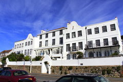 Wit strandboulevard Victoriaans herenhuis Folkestone Kent het UK Royalty-vrije Stock Foto