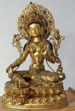 Wit Tara beeldhouwwerk Royalty-vrije Stock Afbeelding