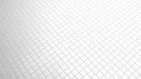 Wit tegels convergerend perspectief als achtergrond royalty-vrije illustratie