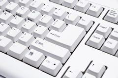 Wit toetsenbord Royalty-vrije Stock Fotografie