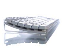 Wit toetsenbord Stock Afbeeldingen