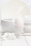 Wit van keuken Stock Foto