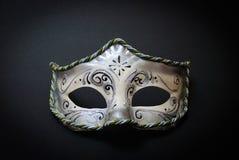 Wit Venetiaans Masker Royalty-vrije Stock Afbeelding