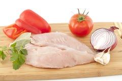 Wit vlees Royalty-vrije Stock Afbeelding