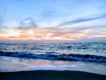 Świt w Czarnym morzu Zdjęcie Stock