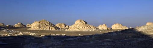 Wit woestijnlandschap Stock Foto's