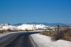 Wit Zand New Mexico Royalty-vrije Stock Foto