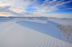 Wit Zand NM Stock Afbeeldingen