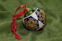 Święta bauble dekoracja Zdjęcie Stock