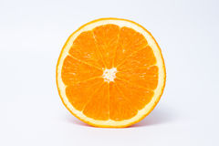 Witamina C, połówka pomarańcze Fotografia Stock