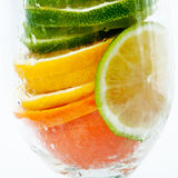 Witamina owocowy koktajl Obraz Royalty Free