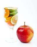 Witamina owocowy koktajl Obrazy Stock