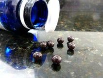 Witaminy b12 cyanocobalamin fotografia stock