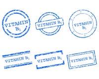 Witaminy B1 znaczki Obraz Royalty Free