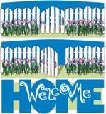 witamy w domu Fotografia Royalty Free