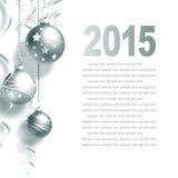 witamy w karty nowego roku Zdjęcie Royalty Free
