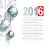 witamy w karty nowego roku Obrazy Stock