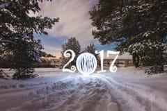 witamy w karty nowego roku Zdjęcia Royalty Free