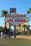 witamy w las Vegas Obrazy Stock