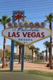 witamy w las Vegas bajeczny lasów Zdjęcia Stock