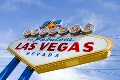 witamy w las Vegas, lasy Obraz Royalty Free