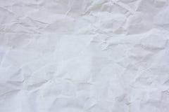 Witboek achtergrondtextuur Royalty-vrije Stock Foto