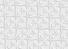 Witboek geometrisch patroon, abstract malplaatje als achtergrond voor website, banner, adreskaartje, uitnodiging Stock Foto