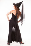 Witch backside view Stock Photography