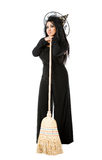 Witch Broom Royalty Free Stock Photo
