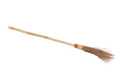 Witch Broomstick Royalty Free Stock Photos