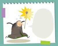 Witch cartoon Stock Image