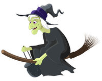 Witch Cartoon Royalty Free Stock Photo