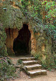 Witch cave in Monasterio De Piedra Park, Spain Stock Photo
