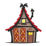 Witch. Cottage from fairy tales of hansel and gretel Royalty Free Stock Photography