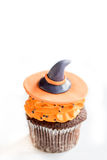 Witch cup cake Royalty Free Stock Photography