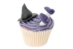 Witch cupcake Stock Photo