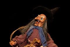 Witch doll figurine Stock Photos