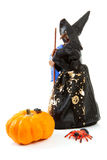 Witch doll for halloween Stock Photo