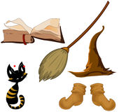 witch equipment Royalty Free Stock Photo
