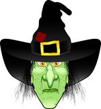 Witch_face Foto de Stock Royalty Free
