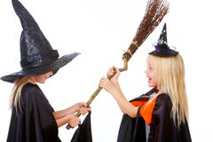 Witch fight Royalty Free Stock Photography