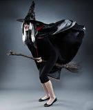 Witch full length shot Stock Photo