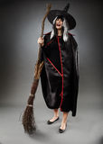 Witch full length shot Stock Photos