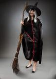 Witch full length shot Stock Photos