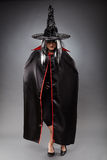 Witch full length shot Royalty Free Stock Photos